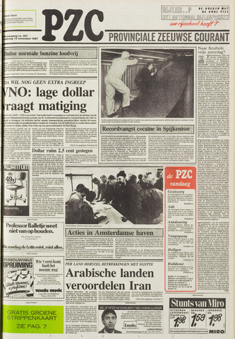 Provinciale Zeeuwse Courant 1987-11-12