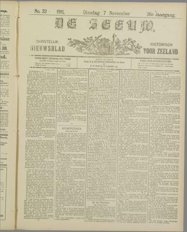 De Zeeuw. Christelijk-historisch nieuwsblad voor Zeeland 1911-11-07