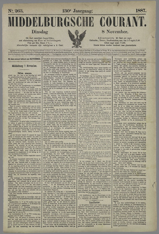 Middelburgsche Courant 1887-11-08