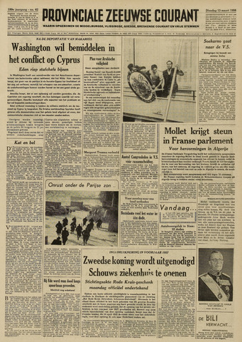 Provinciale Zeeuwse Courant 1956-03-13