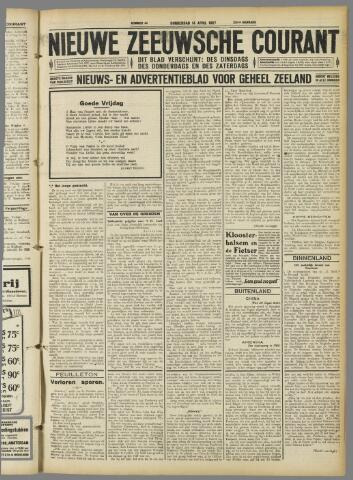 Nieuwe Zeeuwsche Courant 1927-04-14