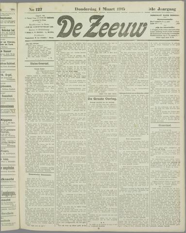 De Zeeuw. Christelijk-historisch nieuwsblad voor Zeeland 1917-03-01