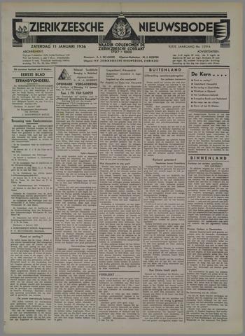 Zierikzeesche Nieuwsbode 1936-01-11