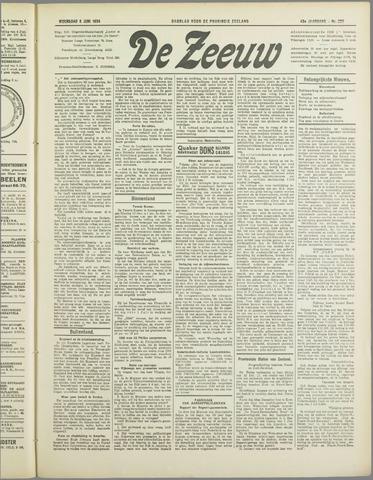 De Zeeuw. Christelijk-historisch nieuwsblad voor Zeeland 1934-06-06
