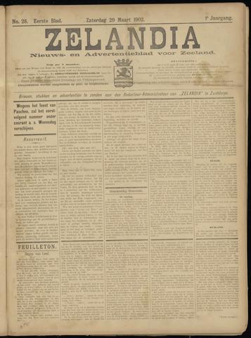 Zelandia. Nieuws-en advertentieblad voor Zeeland | edities: Het Land van Hulst en De Vier Ambachten 1902-03-29