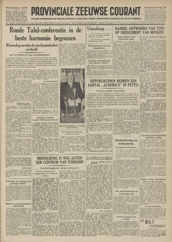 Provinciale Zeeuwse Courant 1949-08-25