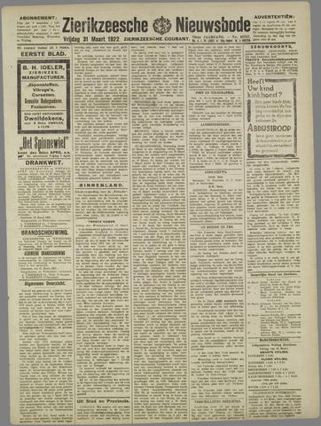 Zierikzeesche Nieuwsbode 1922-03-31
