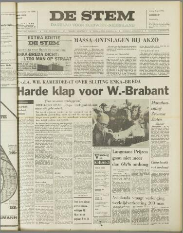 de Stem 1972-04-07