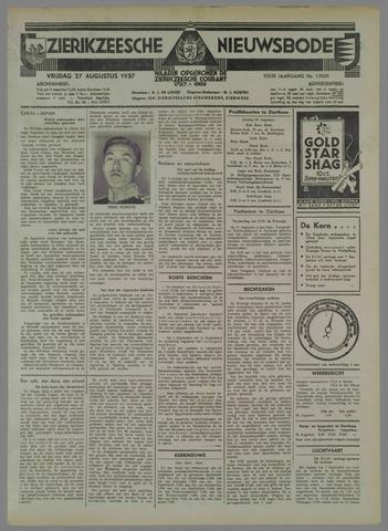Zierikzeesche Nieuwsbode 1937-08-27