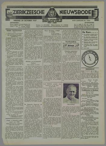 Zierikzeesche Nieuwsbode 1937-10-29