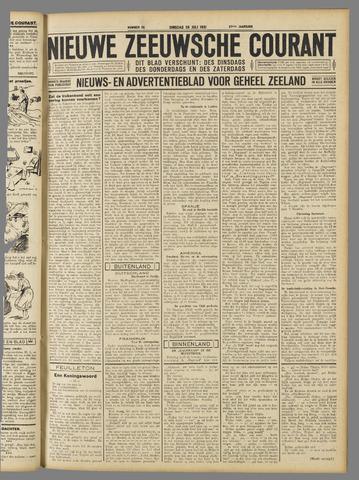 Nieuwe Zeeuwsche Courant 1931-07-28
