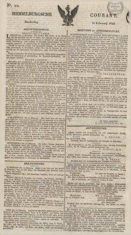Middelburgsche Courant 1829-02-19