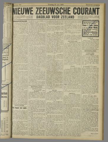 Nieuwe Zeeuwsche Courant 1920-07-27