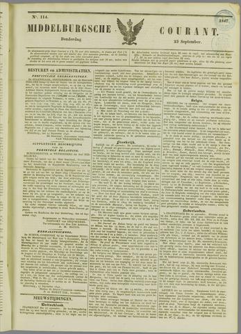 Middelburgsche Courant 1847-09-23