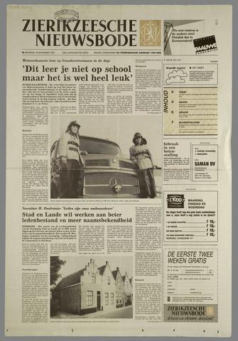 Zierikzeesche Nieuwsbode 1991-11-18