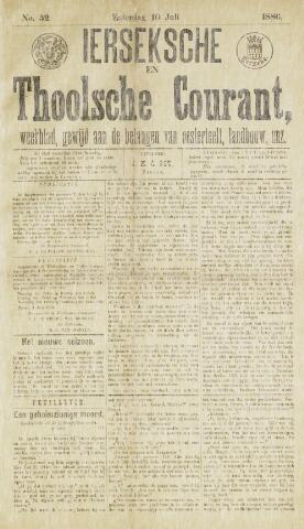 Ierseksche en Thoolsche Courant 1886-07-10