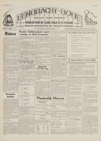 Eendrachtbode (1945-heden)/Mededeelingenblad voor het eiland Tholen (1944/45) 1969-06-19