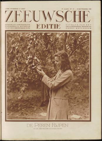 Ons Zeeland / Zeeuwsche editie 1930-09-19