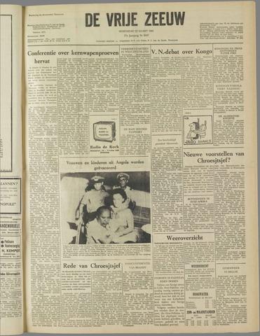 de Vrije Zeeuw 1961-03-22