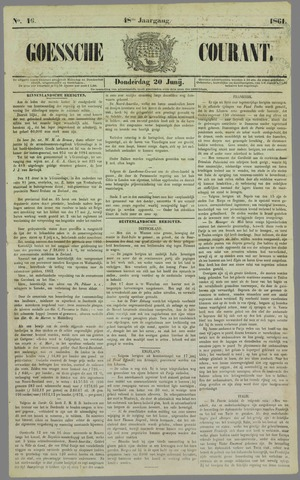 Goessche Courant 1861-06-20