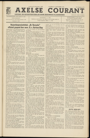 Axelsche Courant 1967-09-16