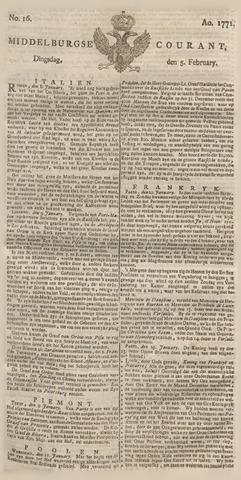 Middelburgsche Courant 1771-02-05