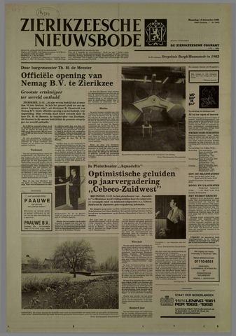 Zierikzeesche Nieuwsbode 1981-12-14
