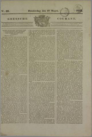 Goessche Courant 1842-03-17