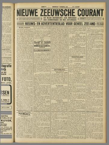 Nieuwe Zeeuwsche Courant 1929-08-01
