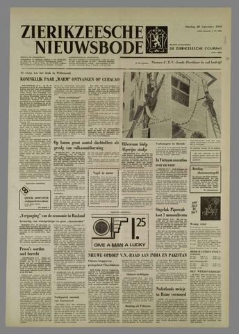 Zierikzeesche Nieuwsbode 1965-09-28