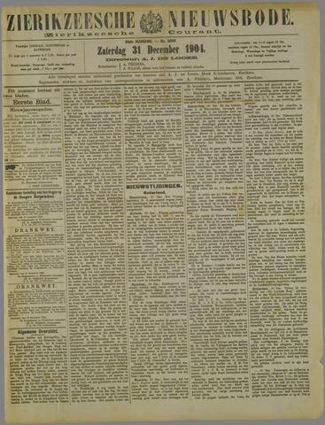 Zierikzeesche Nieuwsbode 1904-12-31