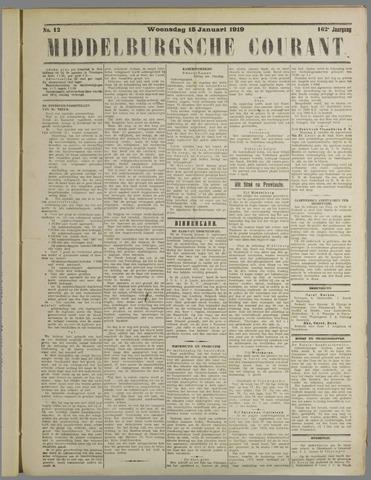 Middelburgsche Courant 1919-01-15