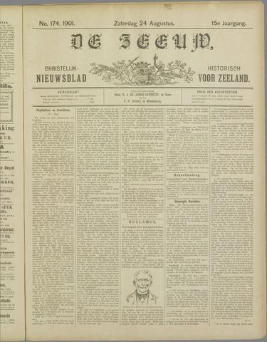 De Zeeuw. Christelijk-historisch nieuwsblad voor Zeeland 1901-08-24