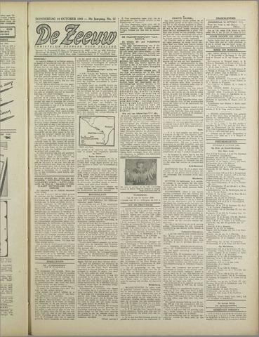 De Zeeuw. Christelijk-historisch nieuwsblad voor Zeeland 1943-10-14