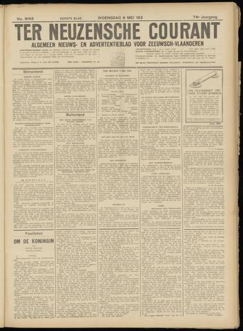 Ter Neuzensche Courant. Algemeen Nieuws- en Advertentieblad voor Zeeuwsch-Vlaanderen / Neuzensche Courant ... (idem) / (Algemeen) nieuws en advertentieblad voor Zeeuwsch-Vlaanderen 1934-05-09
