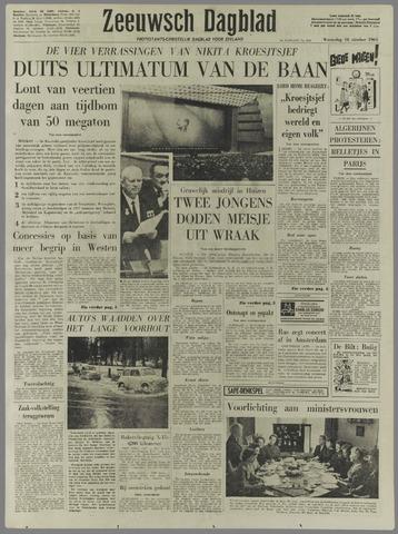Zeeuwsch Dagblad 1961-10-18