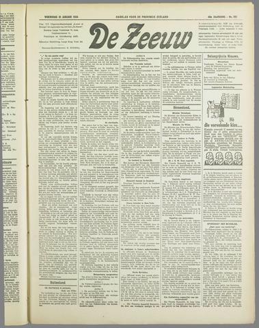 De Zeeuw. Christelijk-historisch nieuwsblad voor Zeeland 1934-01-31