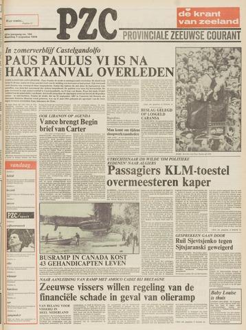 Provinciale Zeeuwse Courant 1978-08-07