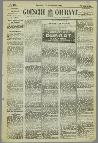 Goessche Courant 1919-12-20
