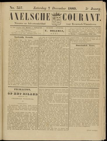 Axelsche Courant 1889-12-07