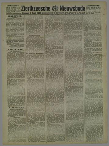 Zierikzeesche Nieuwsbode 1923-09-03