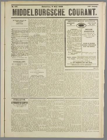 Middelburgsche Courant 1925-05-09