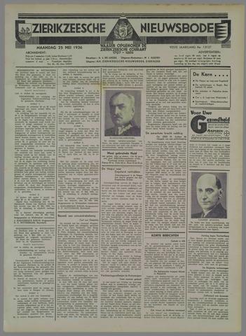 Zierikzeesche Nieuwsbode 1936-05-25
