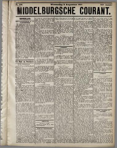 Middelburgsche Courant 1921-08-03