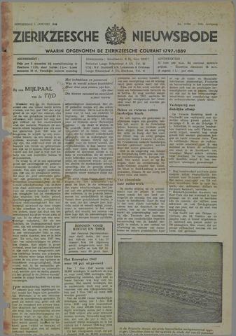 Zierikzeesche Nieuwsbode 1948