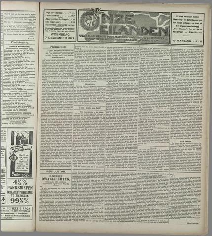 Onze Eilanden 1927-12-07
