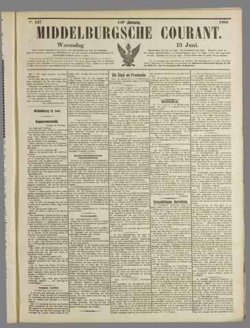 Middelburgsche Courant 1906-06-13