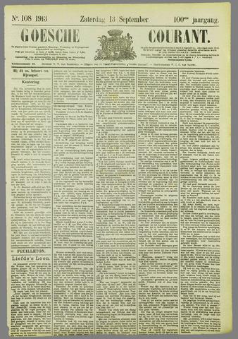 Goessche Courant 1913-09-13