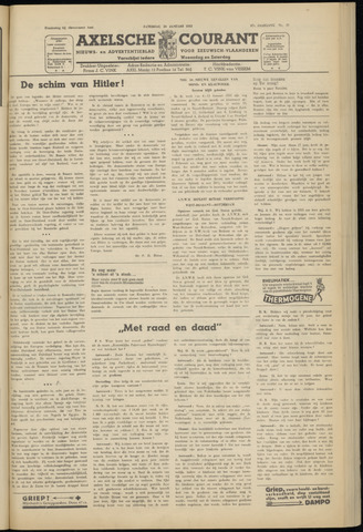 Axelsche Courant 1953-01-24