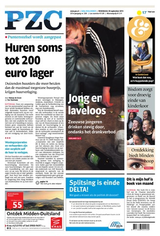 Provinciale Zeeuwse Courant 2015-09-30